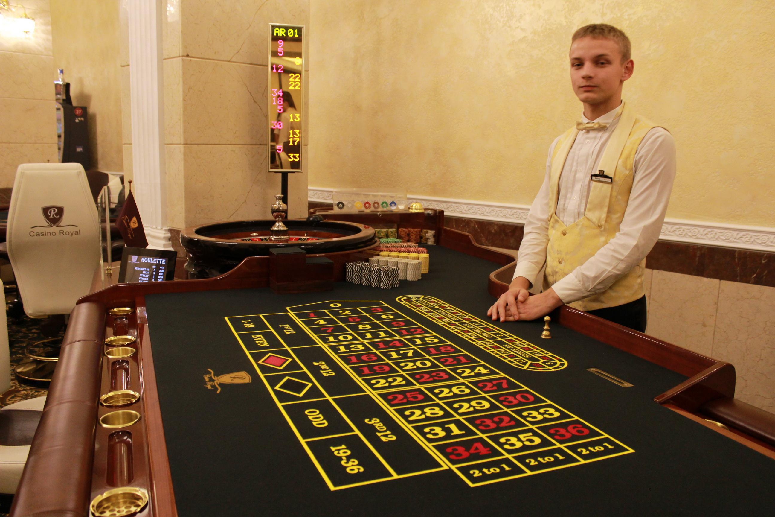 устроиться на работу в казино