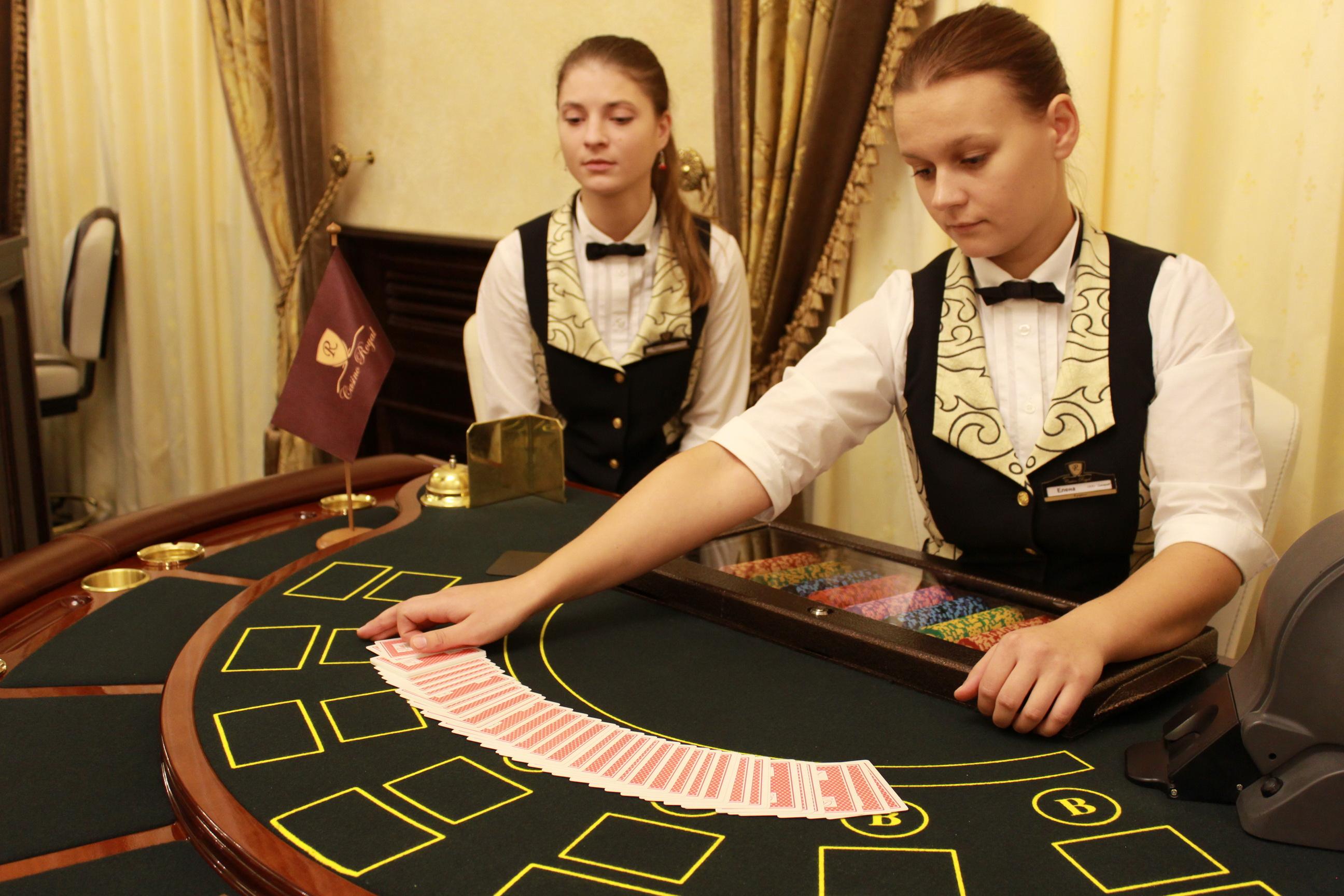 казино сочи вакансии крупье
