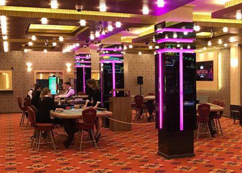 Игровой зал в казино Imperium