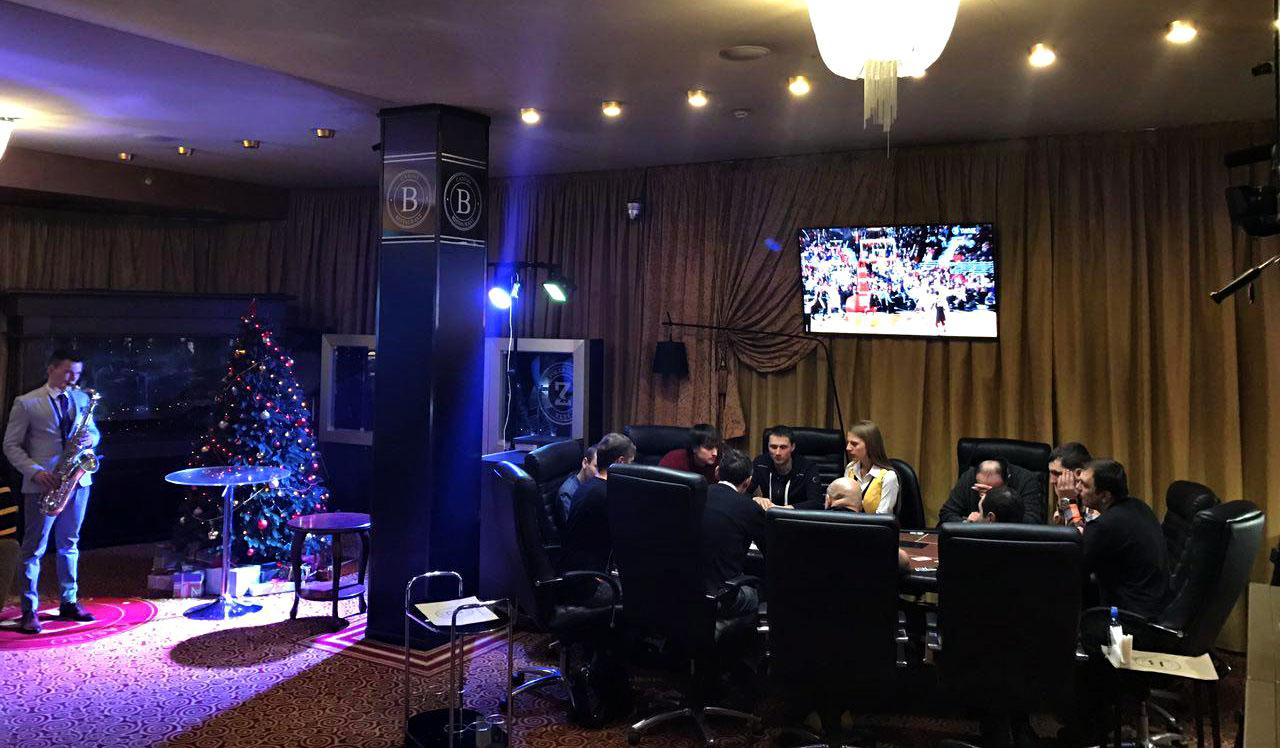 Покерный клуб Zett в казино Белая Вежа