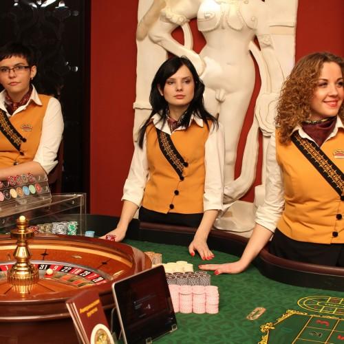 Рулетка в казино Бакара