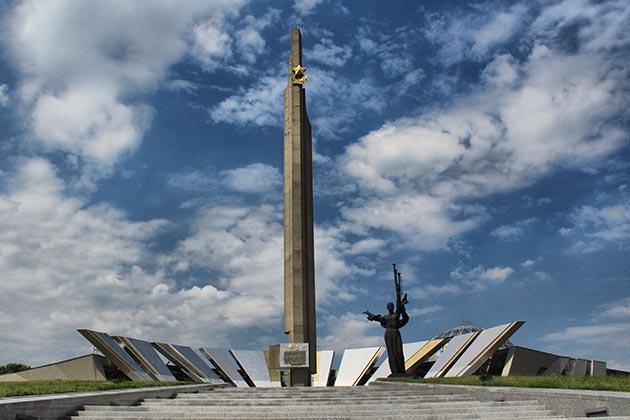 Минск - город герой