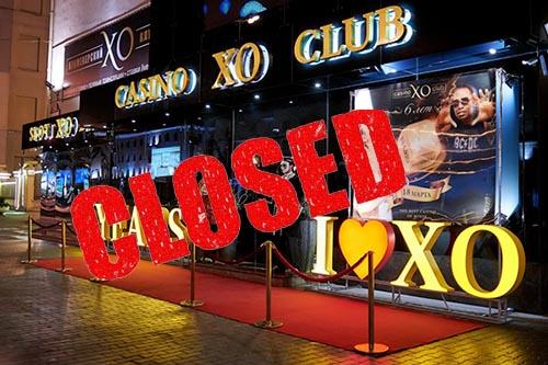 Закрылось казино ХО в Минске