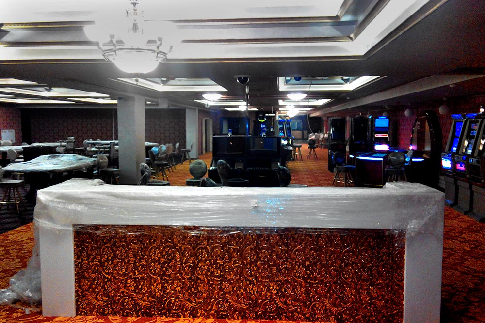 Вид на казино Шато в Минске.