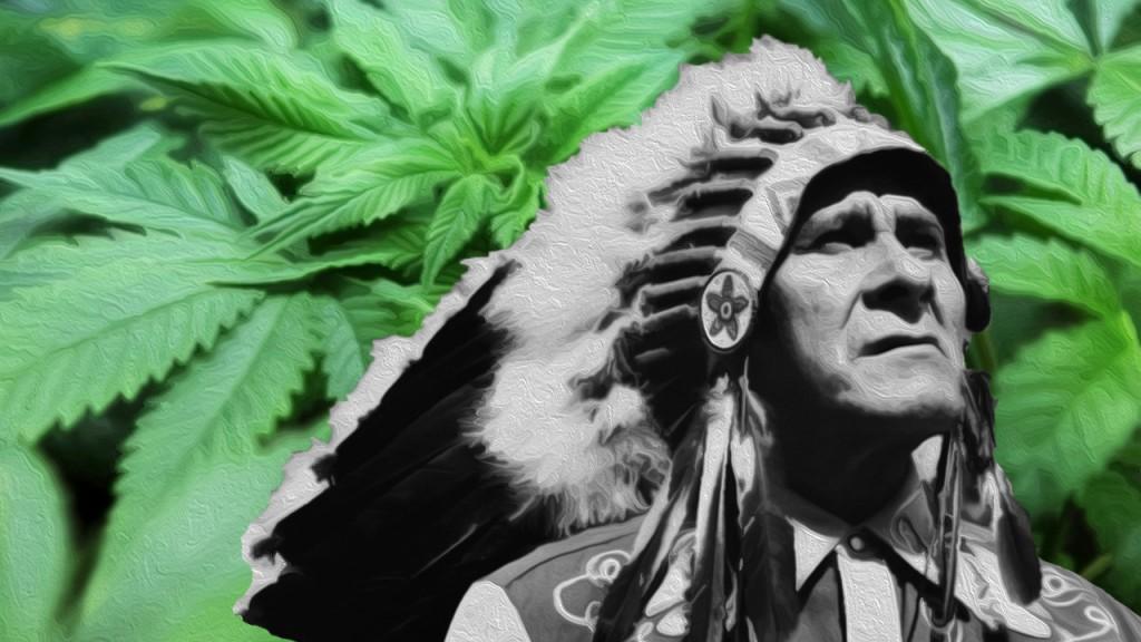 Курение марихуаны в казино