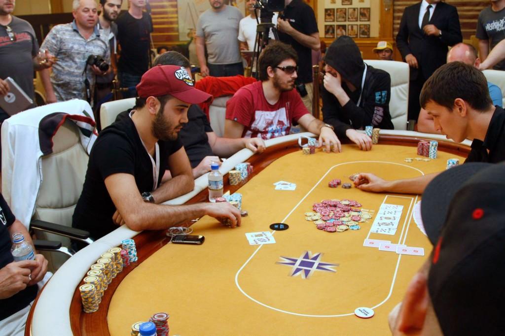 Покерный турнир на Кипре