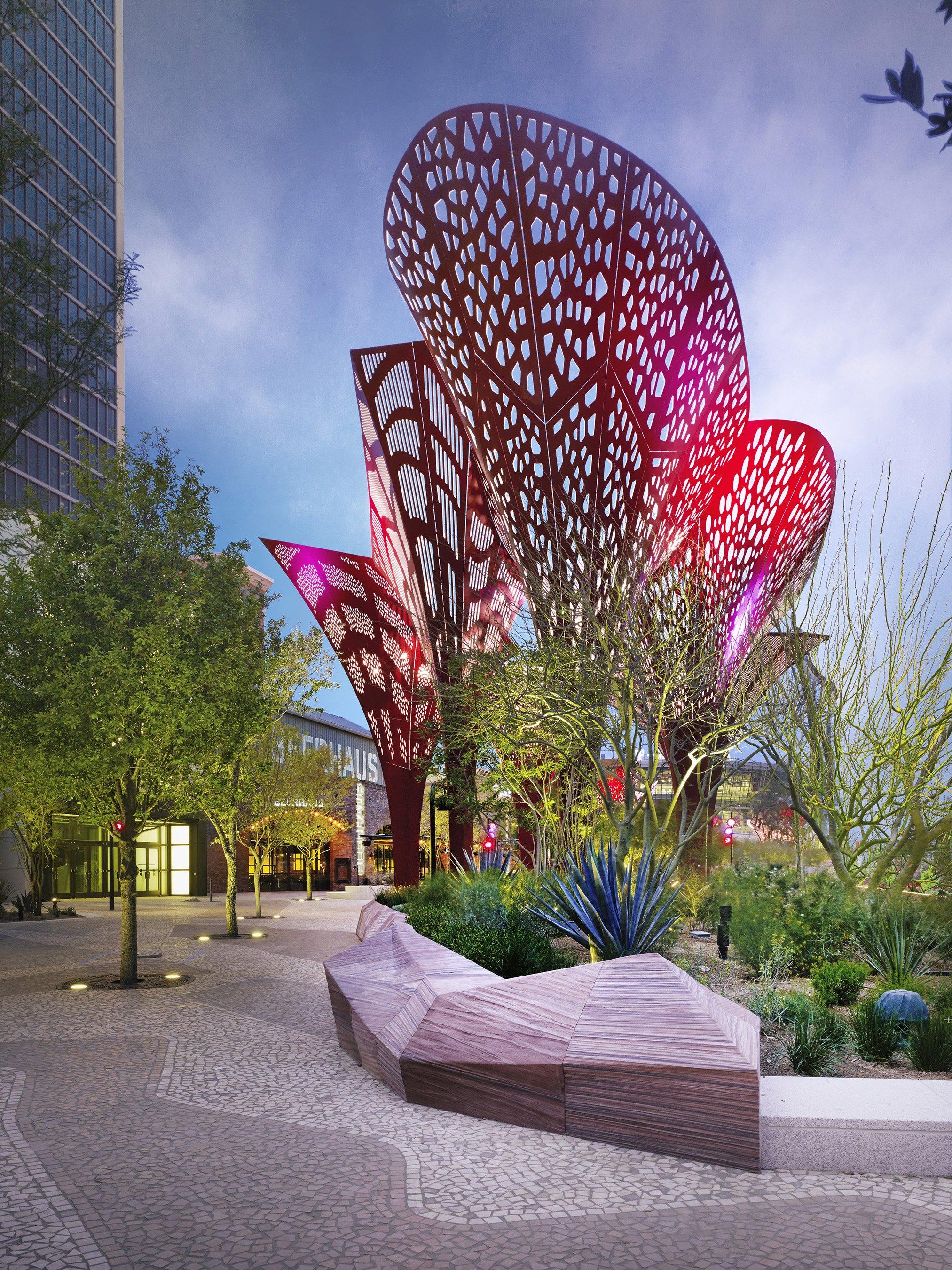 парк отдыха в Лас-Вегасе