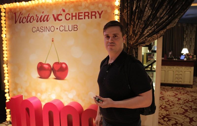 Андрей Шаккар в казино Виктория-Черри