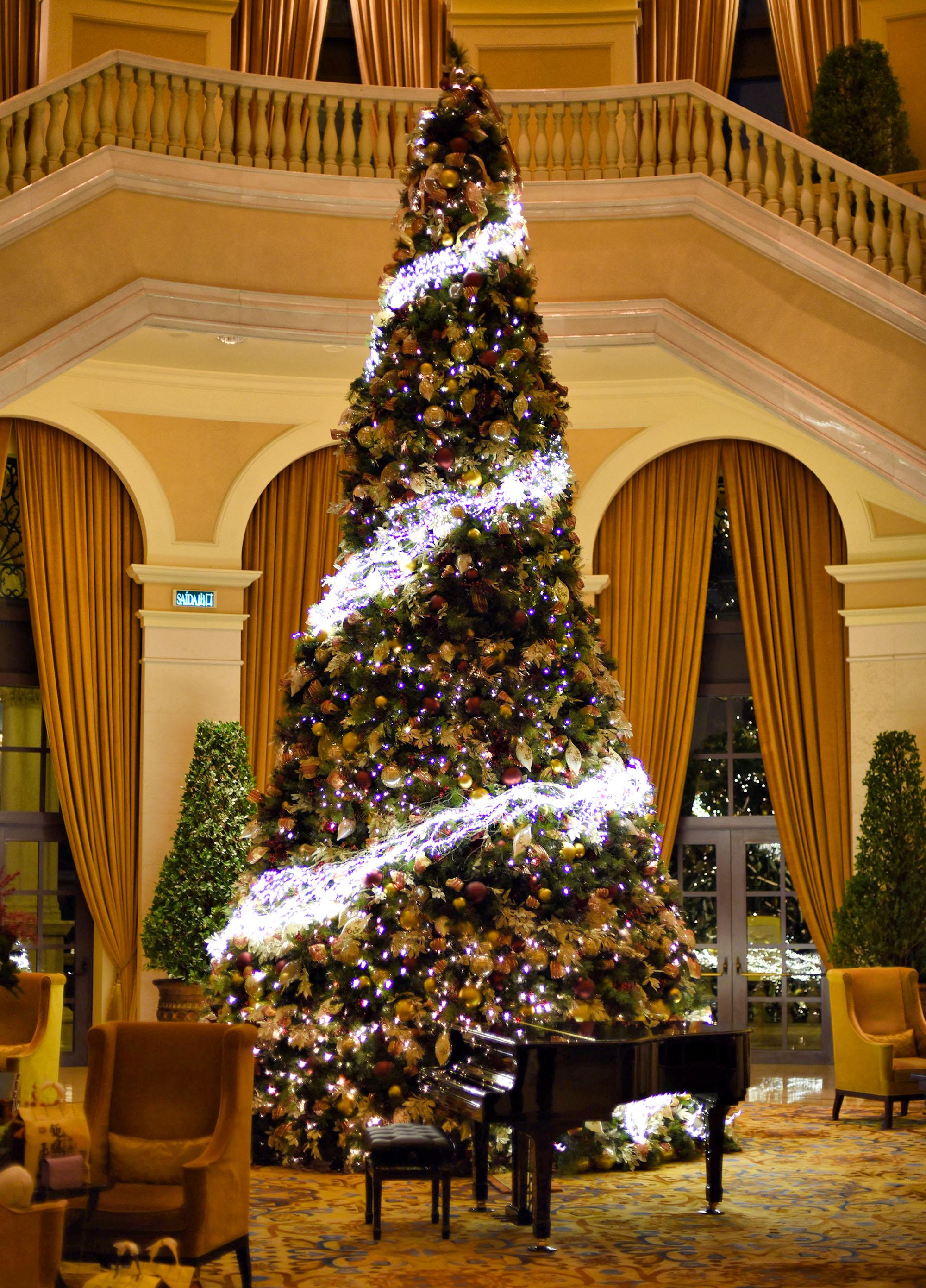 Новогодняя елка в казино