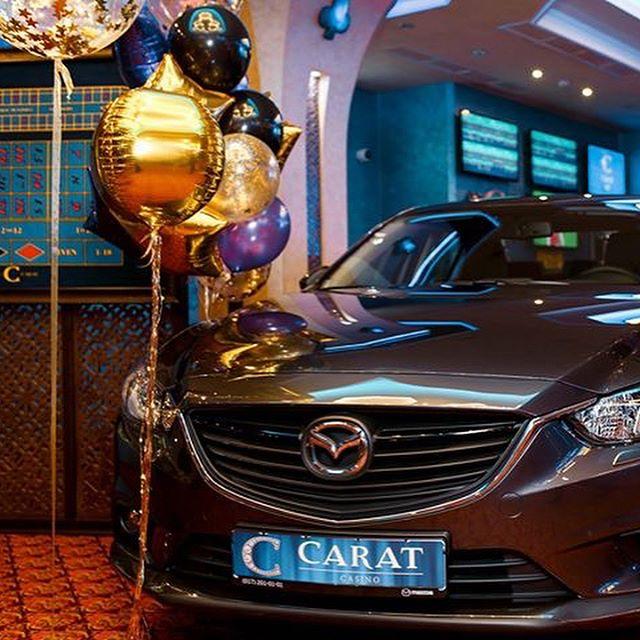 Автомобиль в казино Карат в Минске